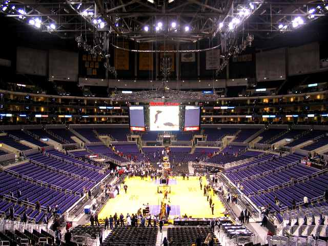 Los Angeles Lakers Middle Seats