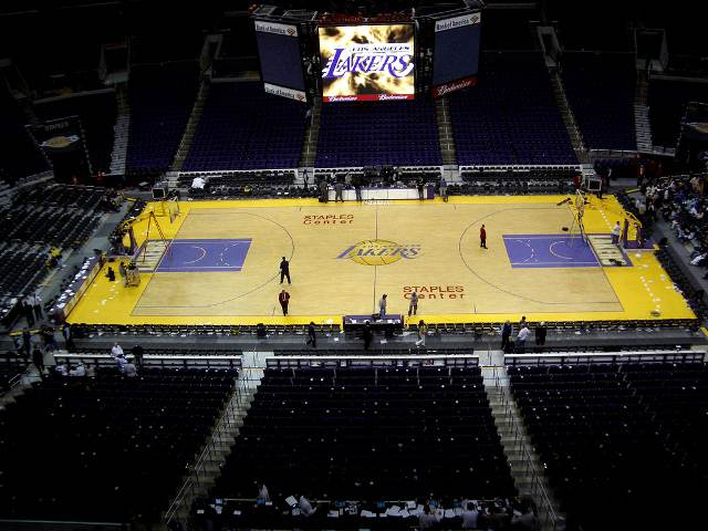 Los Angeles Lakers Suite Seats