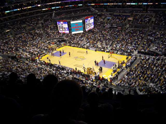 Los Angeles Lakers Upper Seats