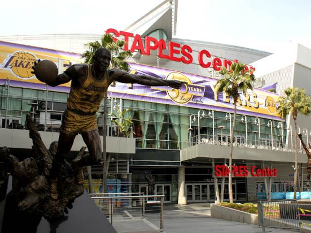 STAPLES Center: Home of the Los Angeles Lakers
